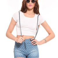 Chain Suspender Shorts - Clothes | GYPSY WARRIOR