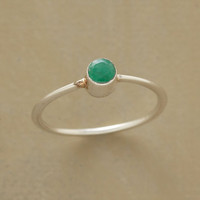 EMERALD CYLINDER RING         -                  Rings         -                  Jewelry Under $100         -                  Jewelry                       | Robert Redford's Sundance Catalog
