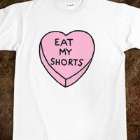 eat my shorts - etc. - Skreened T-shirts, Organic Shirts, Hoodies, Kids Tees, Baby One-Pieces and Tote Bags