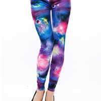 Papaya Clothing Online :: ORBIT FANTASY LEGGINGS