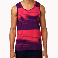Colorblocked Stripe Tank