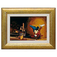 Framed Limited-Edition Mickey Mouse Giclée ''The Sorcerer's Apprentice'' | Disney Store