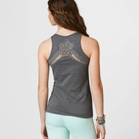 AE Lace Back Boyfriend Tank | American Eagle Outfitters