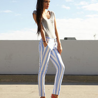 Vertical Stripe Pants | FOREVER 21 - 2042269156