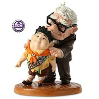 Carl and Russell Figurine - Up - Walt Disney Classics Collection | Disney Store