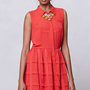 Anthropologie - Tiered Habitual Shirtdress