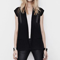 Estell Sleeveless Blazer