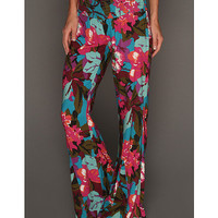Roxy Rebound Pant True Black Print 2 - Zappos.com Free Shipping BOTH Ways