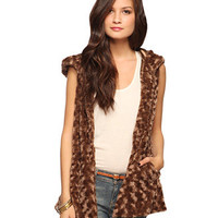 Cozy Hooded Vest | FOREVER 21 - 2015036041