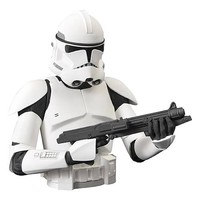 Star Wars Clone Trooper Bust Bank - Diamond Select - Star Wars - Banks at Entertainment Earth