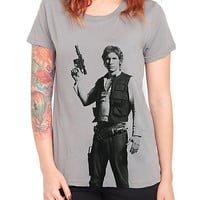 Star Wars Her Universe Han Solo Girls T-Shirt | Hot Topic