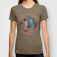Aquarium #2 T-shirt by Ornaart