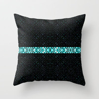 Classic #3 Throw Pillow by Ornaart
