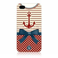 Ecell - head case anchor nautical clothing protective back case for apple iphone 4 4s:Amazon:Cell Phones &amp; Accessories