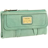 Fossil Emory Clutch Sea Green - Zappos.com Free Shipping BOTH Ways
