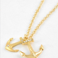 Anchor Necklace Fashion Jewelry by brooklynbelleboutiq on Etsy
