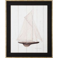"Propac Images Sailboat I Print- 27"" x 33"" - 3947 - All Wall Art - Wall Art & Coverings - Decor"