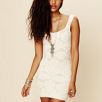 Intimately Free People Womens Sleeveless Medallion Slip -