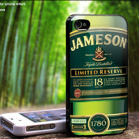 Jameson's Irish Whiskey is Vegan - Case For iPhone Case, iPhone 4, Case, iPhone 4S, iPhone 5, Hard Cover