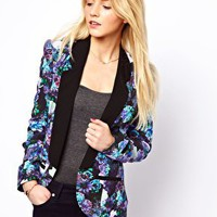 A Wear Digital Floral Blazer at asos.com
