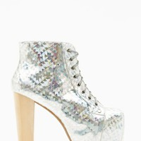 Lita Platform Boot - Hologram