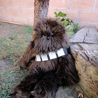 Handmade Star Wars Chewbacca Stuffed Plush Animal by Windsday