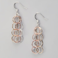 Sterling Silver Vermeil Earrings