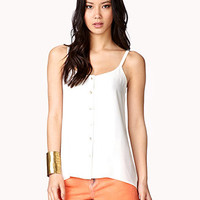 Spaghetti Strap High-Low Top