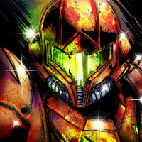 Samus Art Print by Vincent Vernacatola