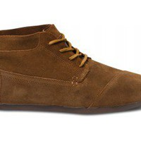TOMS+ Brown Suede Men's Botas | TOMS.com