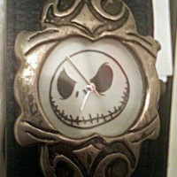 The Nightmare Before Christmas Jack Skellington watch