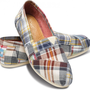 Blue Madras Plaid Women&#x27;s Classics
