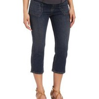 Maternal America Women's Maternity Capri Jeans:Amazon:Clothing