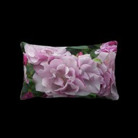 Lavender Roses Lumbar Pillow from Zazzle.com