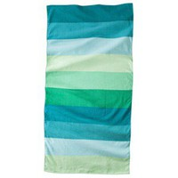 Color Block Beach Towel Set of 2 - Green