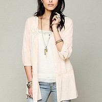 Crochet Back Tunic at Free People Clothing Boutique