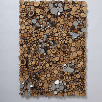 Anthropologie - Wood Piles By Lee Borthwick 	levee