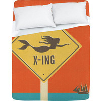 DENY Designs Home Accessories | Anderson Design Group Mermaid X Ing Sheet Set