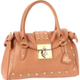 Amazon.com: Betsey Johnson BH58825 Satchel,Tan,One Size: Clothing