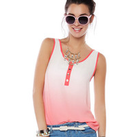 Papaya Clothing Online :: SLEEVELESS OMBRE TOP