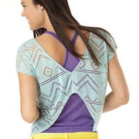Burnout Cutout Top