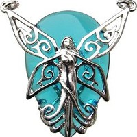 Anne Stokes Poesy for Optimism & Happiness - Mystic Amulet Pendant and Necklace