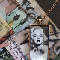 Marilyn Marilyn  Marilyn Pendant Necklace