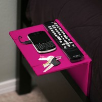 Urban Shelf (White, Black, Pink, Blue) - Folding bedside shelf for your iPhone, Droid, & Other Gear. Doubles as a iPad/tablet stand