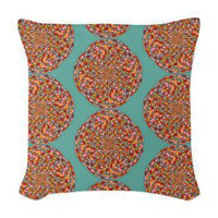 Confetti Woven Throw Pillow&gt; Throw Pillows&gt; Janet Antepara Designs
