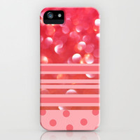 Raspberry Sherbet iPhone &amp; iPod Case by Lisa Argyropoulos