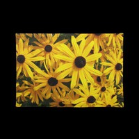 Black Eyed Susans Placemat from Zazzle.com