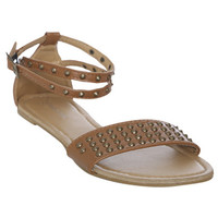 Wrap Around Stud Sandal | Shop Shoes at Wet Seal