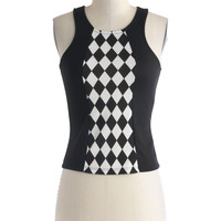Ska&#x27;s the Limit Top | Mod Retro Vintage Short Sleeve Shirts | ModCloth.com