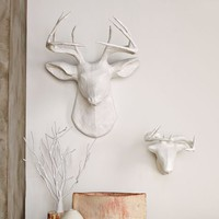 Papier-M&amp;#226;ch&amp;#233; Animal Sculptures - White Deer